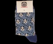 Pandasia Panda Socken blau mit Pandas