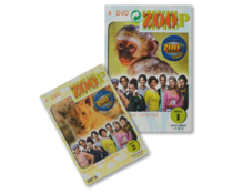Dvd Zoop Part 1 and 2