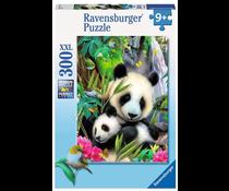 Panda puzzel 300 xxl
