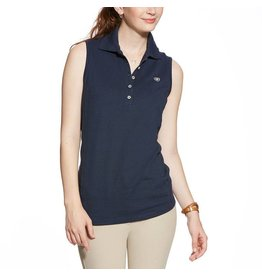 Ariat Ariat PRIX Mouwloos polo navy eclipse