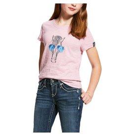 Ariat ARIAT GIRLS HABERDASHERY TEE LILAC PEARL
