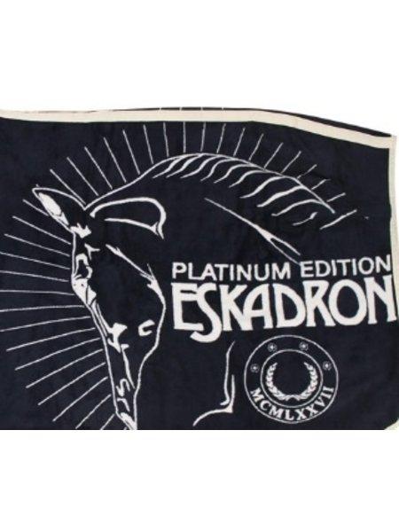 Eskadron Eskadron Dralon deken platinum blauw L