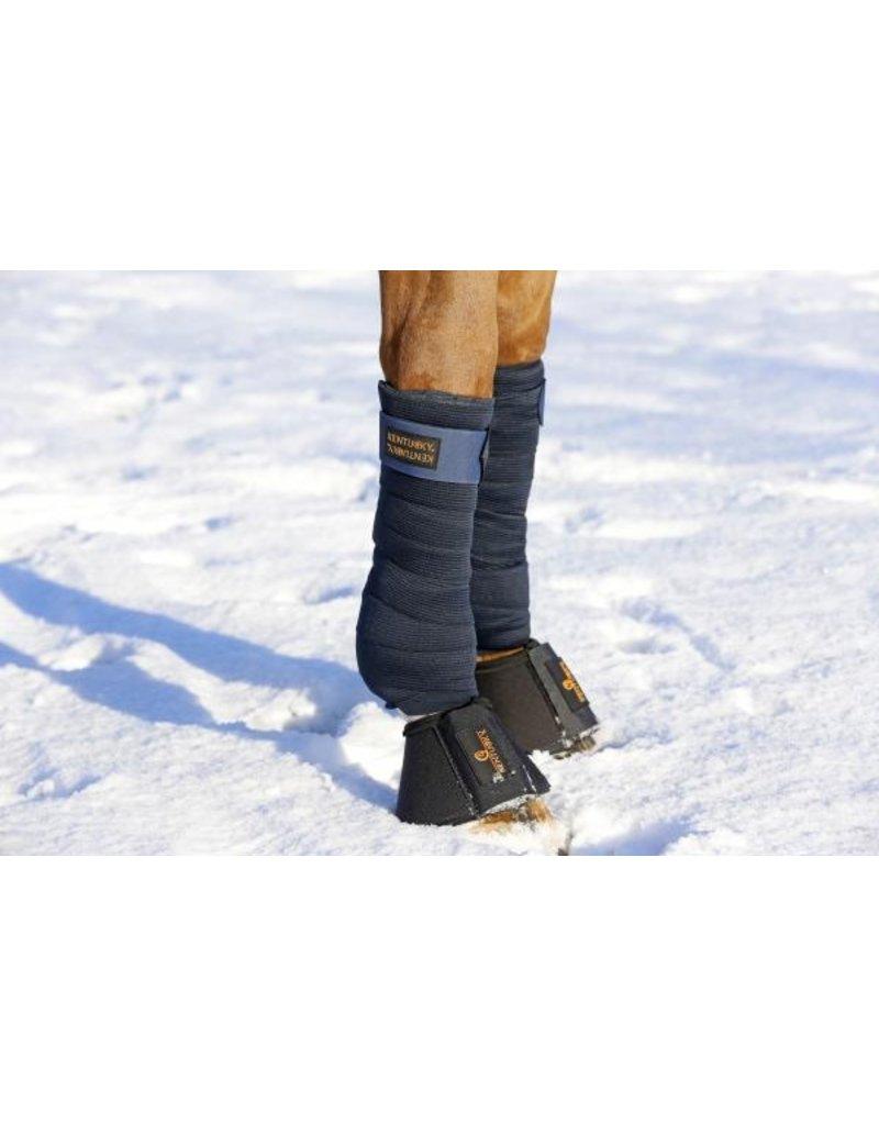 Kentucky Horsewear Kentucky Polar fleece & elastiek bandages donkerblauw