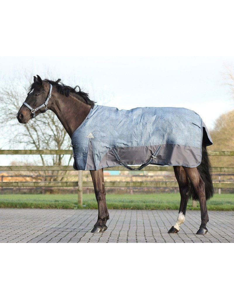 QHP QHP Deken turnout luxe fleece Graphite