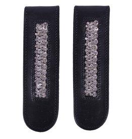 QHP QHP laarzenclip Verbena zwart/zilver