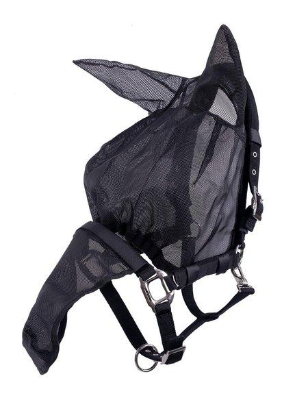 QHP QHP Halster-vliegenkap combi met oren