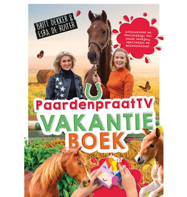 HB Ruitersport Paardenpraat TV Vakantie boek