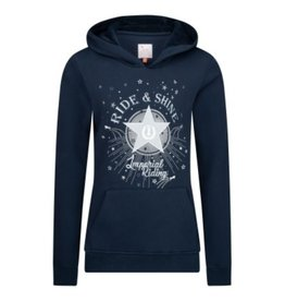 Imperial Riding Imperial Riding Sweater met HoodyStar Shine