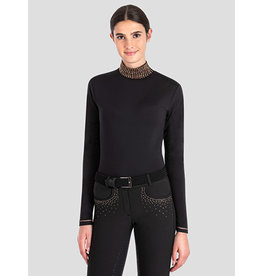 Equiline Equiline Shirt Maglia Donna met Col