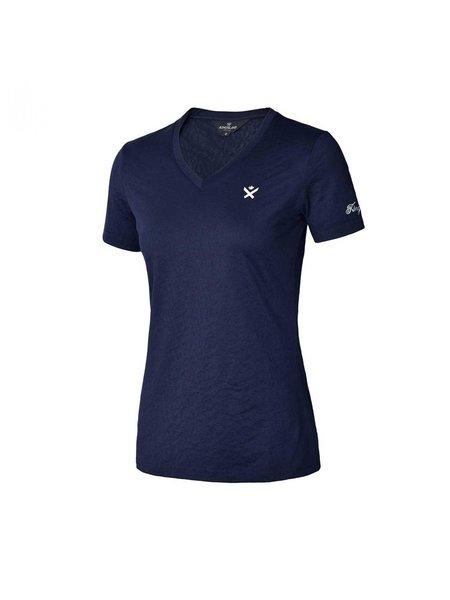 Kingsland Kingsland Aviva Ladies Short sleeve V-neck Navy