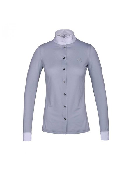 Kingsland Kingsland Jackie Ladies LS Show shirt Grey Sleet