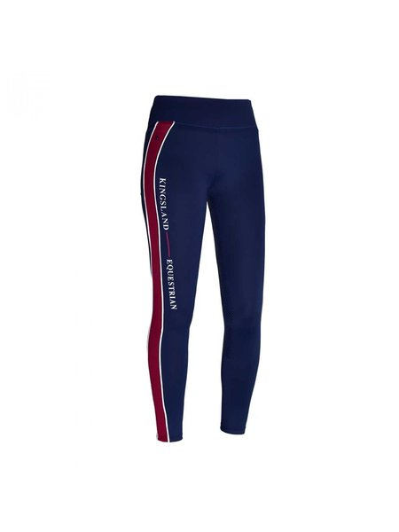Kingsland Kingsland Karina W F Tec Grip comp tights Full grip Navy Blazer