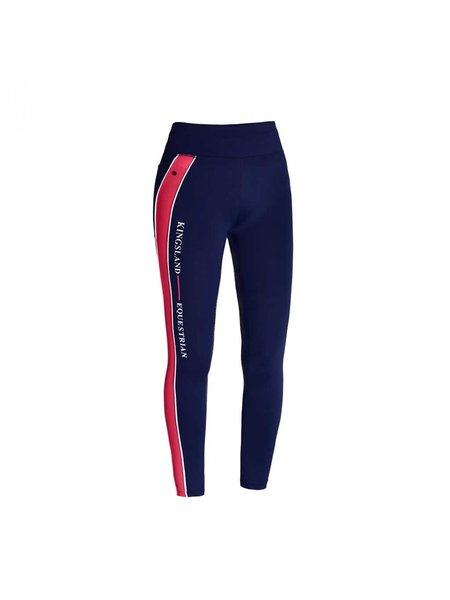 Kingsland Kingsland Karina W F Tec full grip comp Tights Red Geranium