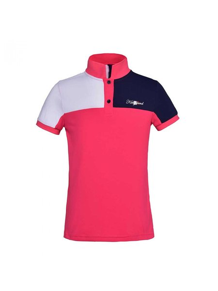 Kingsland Kingsland Jean Junior Tec Pique polo shirt Red Geranium