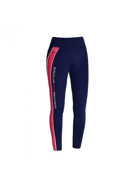 Kingsland Kingsland Kandy Girls F tec comp tights full grip Red Geranium