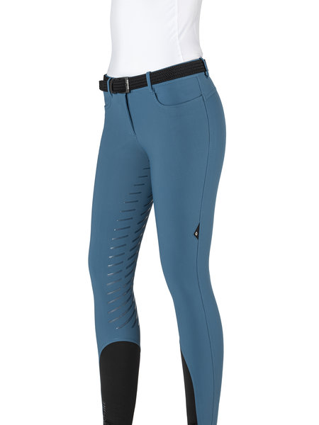 Equiline Equiline Women's full grip breeches Cordulac Seaport Blue