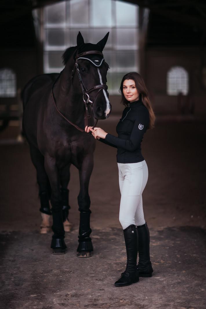 Equestrian Stockholm Equestrian Stockholm Vision Top Black Edition