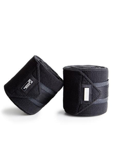 Equestrian Stockholm Equestrian Stockholm Fleece Bandages Black Edition