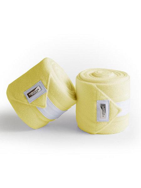 Equestrian Stockholm Equestrian Stockholm Fleece Bandages Soft Lemon