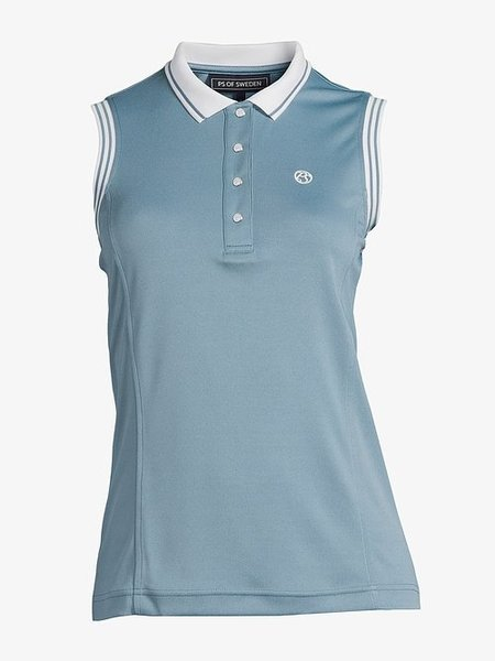 PS of Sweden PS Of Sweden Minna polo shirt Mouwloos