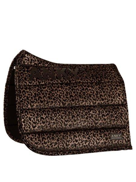 Anky Anky Zadeldek Leopard Print Dressuur Copper Full