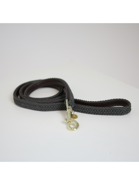 Kentucky Horsewear Kentucky Hondenlijn gevlochten nylon Grijs 120cm