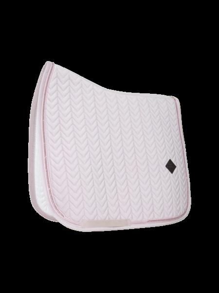 Kentucky Horsewear Kentucky Zadeldoek velvet pearls dressuur zacht roze