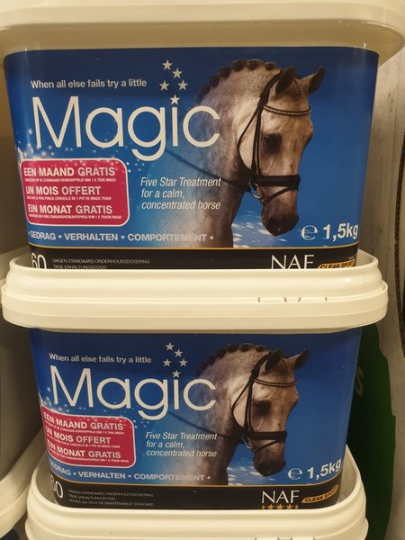 NAF Actie! Promo Naf Magic poeder 1.5 kg