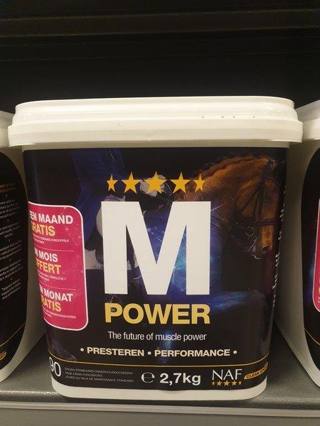 NAF Actie! Promo Naf M power 2.7 kg