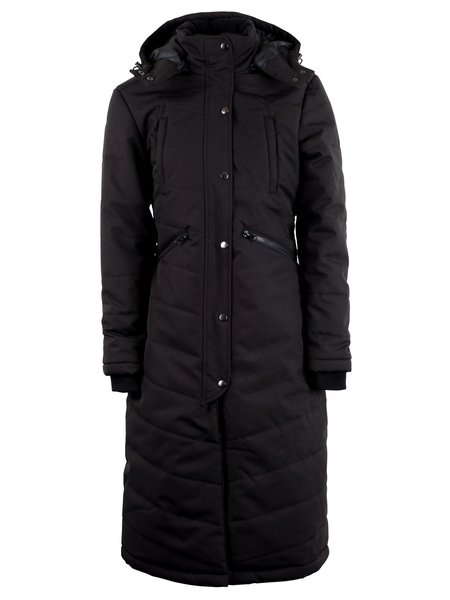 Montar Montar Dicte black long jacket water proofed