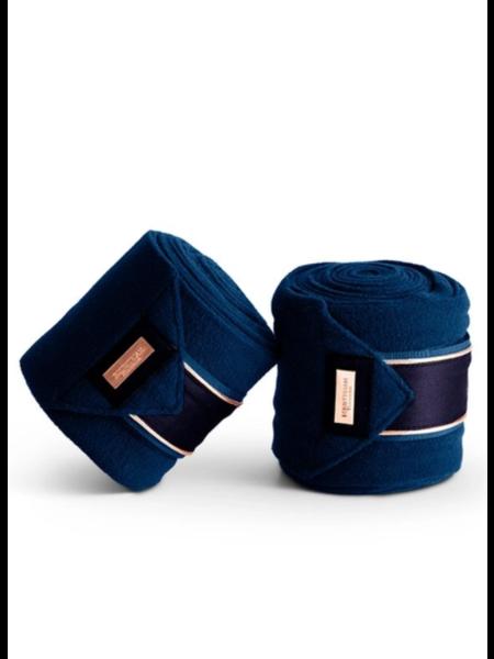 Equestrian Stockholm Equestrian StockholmFleece  Bandages Monaco Blue