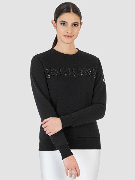 Equiline Equiline Sweatshirt Gefrag met Steentjes