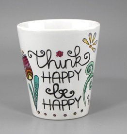 "Tasse ""Think happy"""
