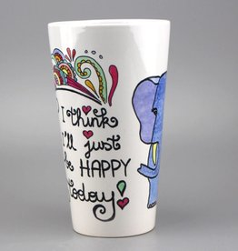 "Tasse groß ""Happy today"""