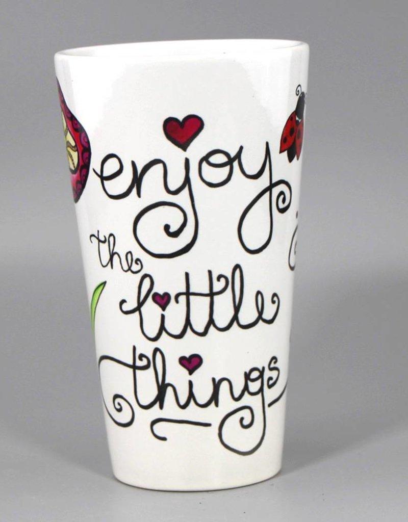 """Tasse groß """"Enjoy the little things"""""""