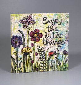 """Printing on wood S """"Enjoy the little things"""""""