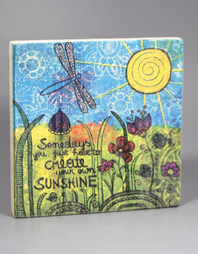 "Printing on wood S ""Sunshine"""
