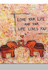 "Poster ""Love your Life"""