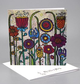 "Greeting card ""Flowers I"""