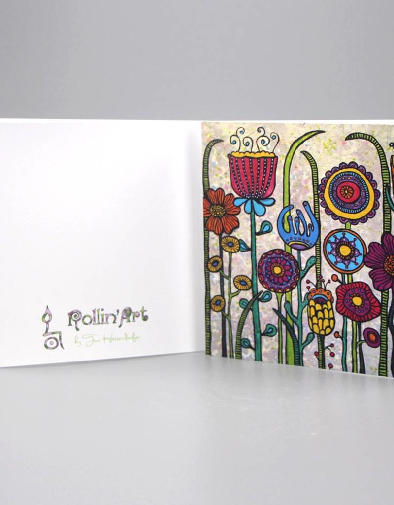 "Greeting card ""Flowers I"""