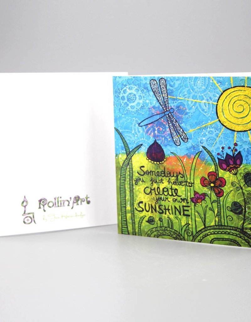 "Greeting card ""Sunshine"""