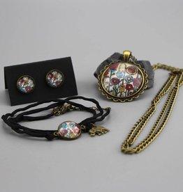 "Jewellery Set "" Blumenwiese"""