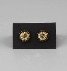 """Earrings  """"Blume gelb"""""""