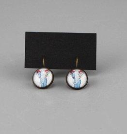 "Hanging earrings  ""Hippiefant"""
