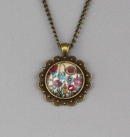 """Necklace  """"Blumenwiese"""""""