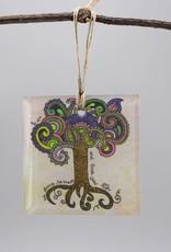 "Glass hanger ""Lebensbaum"""