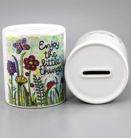 "Savings box ""Enjoy the little things"""