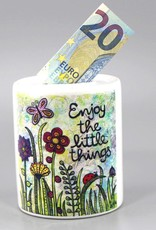 Spardose Enjoy the little things