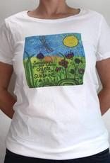 Damen T-Shirt Sunshine
