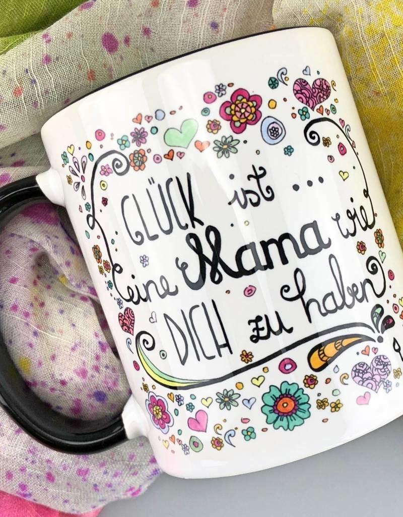 """Ceramic mug  """"Glück ist... Mama"""""""